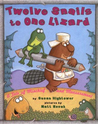 12 snails to one lizard