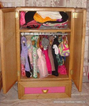 Как собрать кукольную мебель