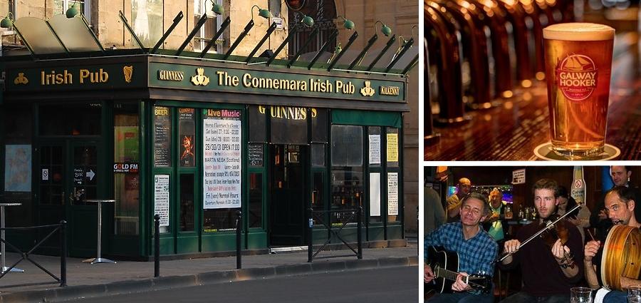 Pub irlandais Connemara centre bordeaux