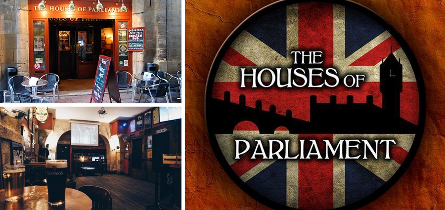 The houses of parliament pub bordeaux