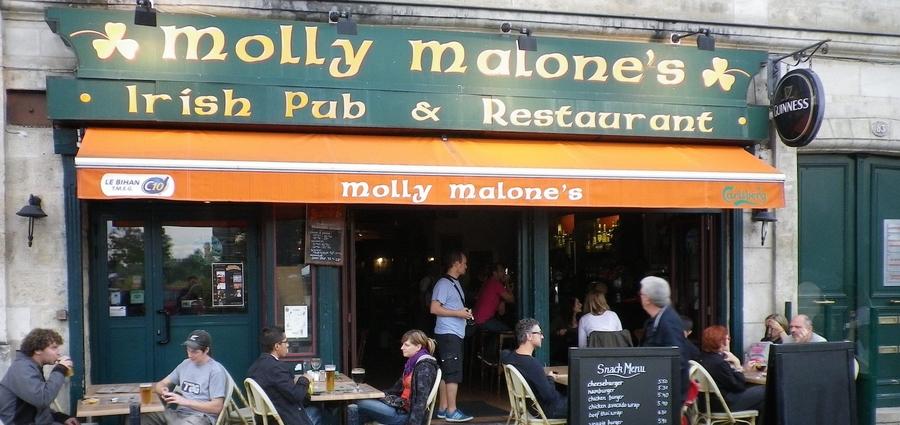 Molly Malone's irish pub Bordeaux