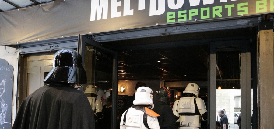 Le meltdown bar à jeux videos bordeaux