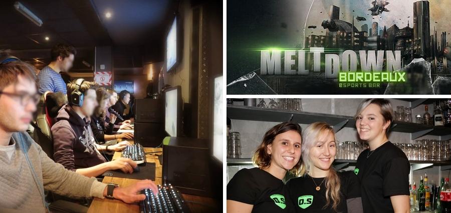 Le Meltdown bar bières et jeux vidéos bordeaux centre