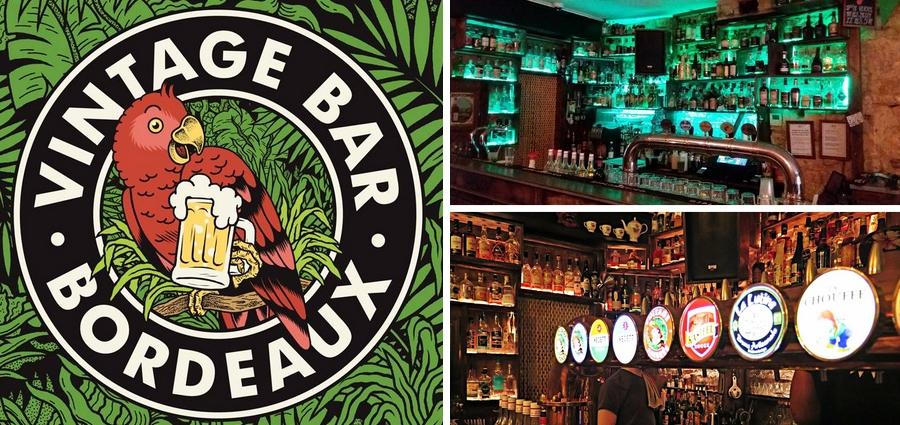 Vintage bar rue saint james bordeaux