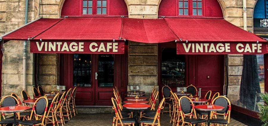 vintage cafe bar quai bordeaux
