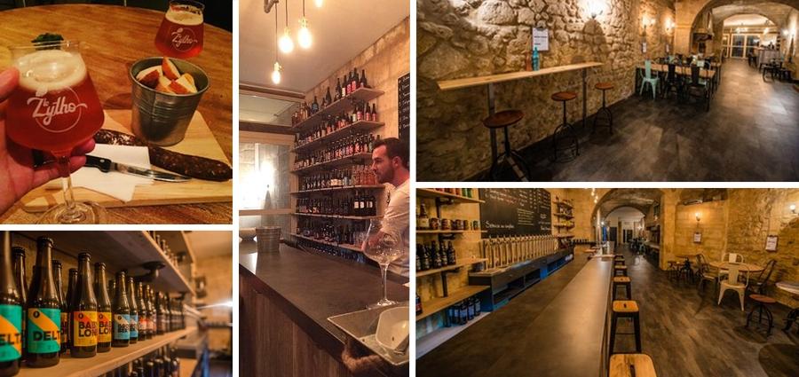Le zytho bar quartier des chartrons bordeaux