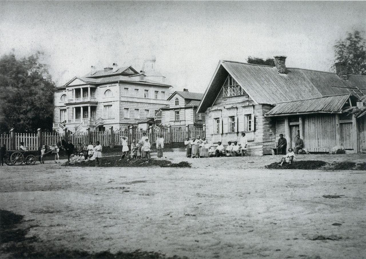 Село Бородино. 1867 г. Фото М.П. Настюкова