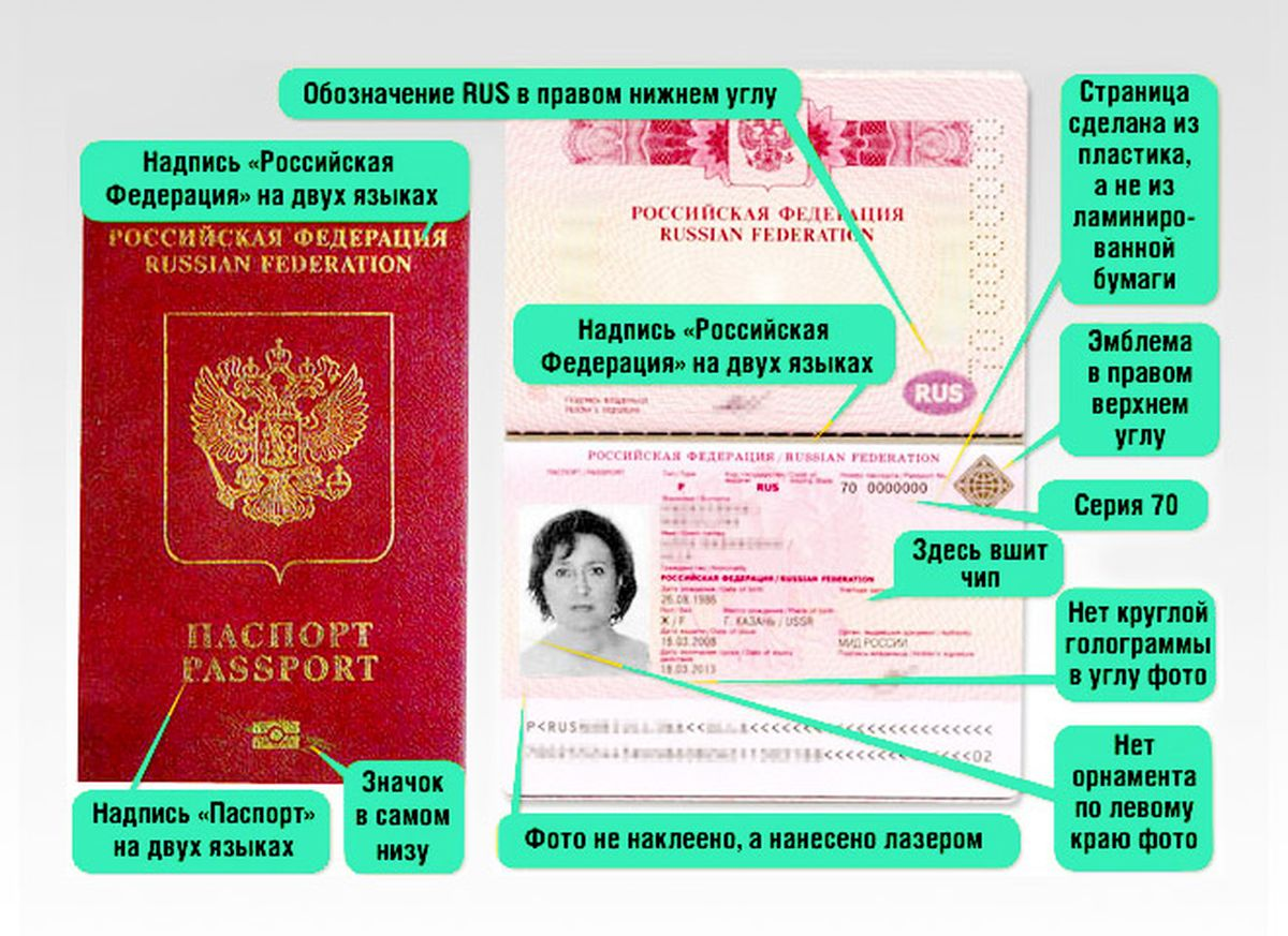 Биометрический паспорт на 10 лет