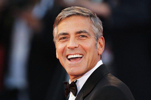Лучшие мужские прически. Классическая стрижка, стиль Джорджа Клуни