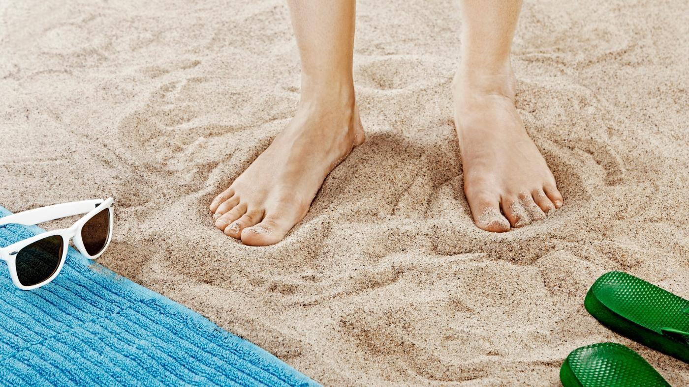 Best way to soften toenails