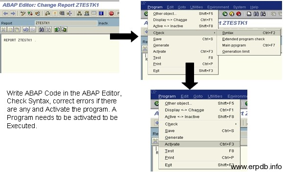 Create Program in SAP ABAP 5