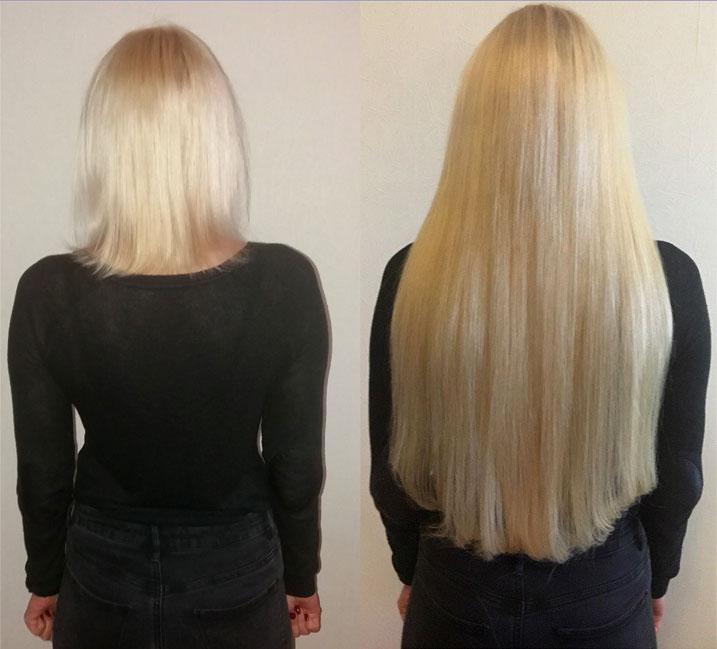 Работа наращивание волос