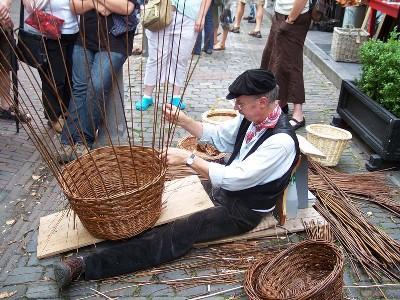 Бизнес на плетении корзин