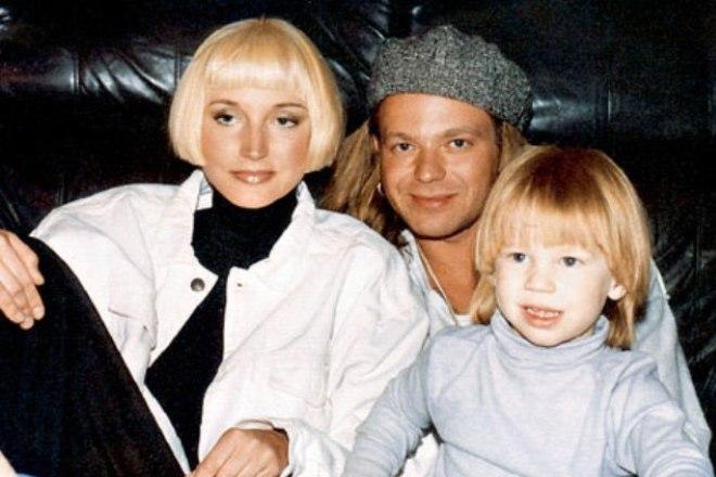 Владимир и Кристина с сыном Никитой