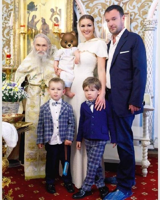 Семья Кожевниковой.