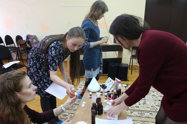 Ангелина Столярова проводит мастер-класс
