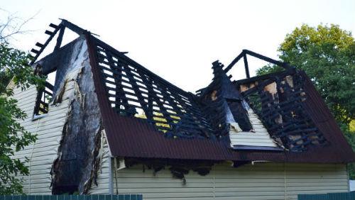 Дом после пожара сонник