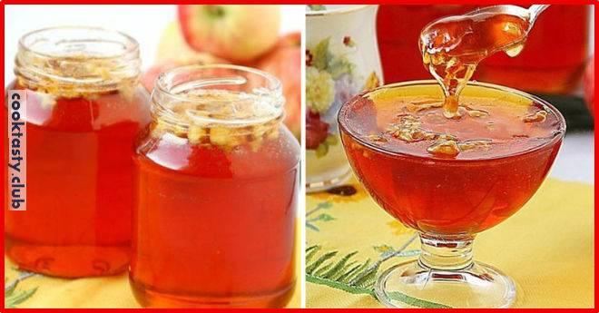 Варенье яблоки с медом