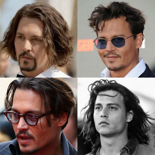 Johnny depp hair cut