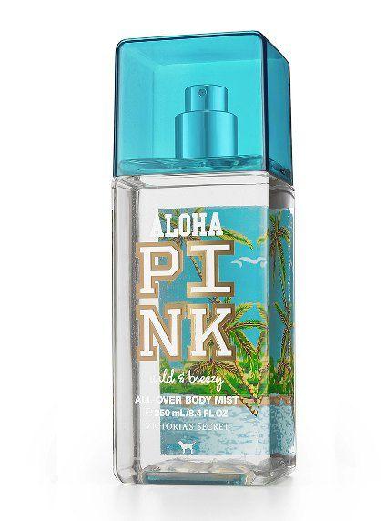 Aloha pink wild and breezy