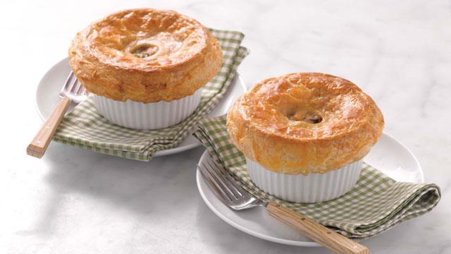 Chicken pot pie with puff pastry martha stewart