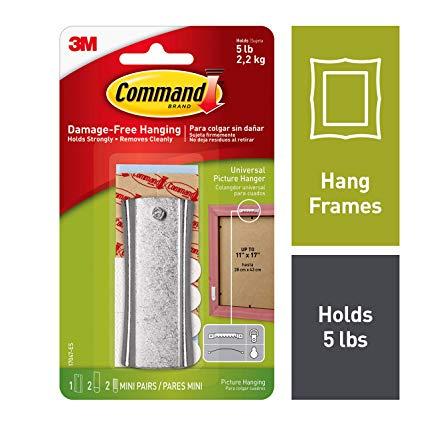 Command sticky nails