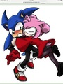 Sonic and Amy pucca