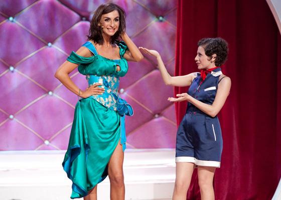 Екатерина Варнава на сцене Камеди Вумен