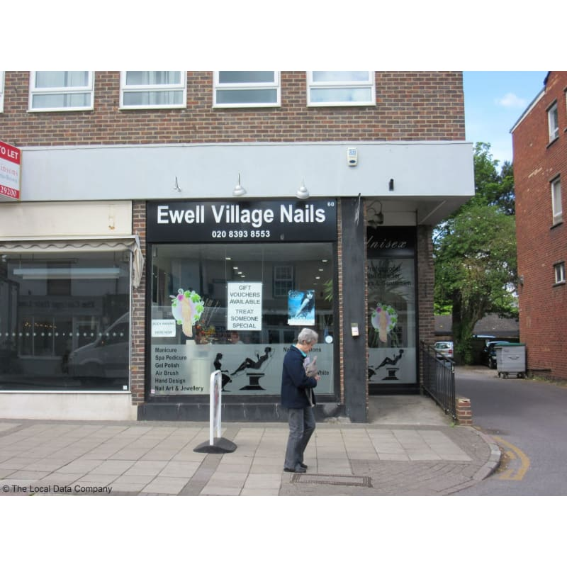 Ewell village nails price list