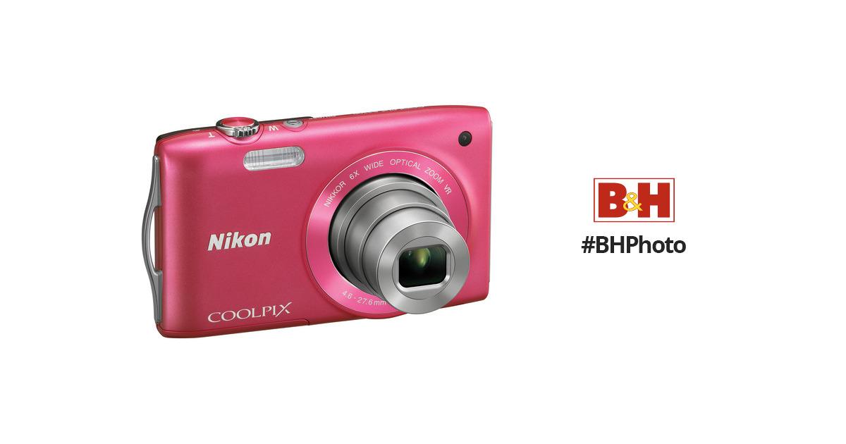 Coolpix s3300 pink