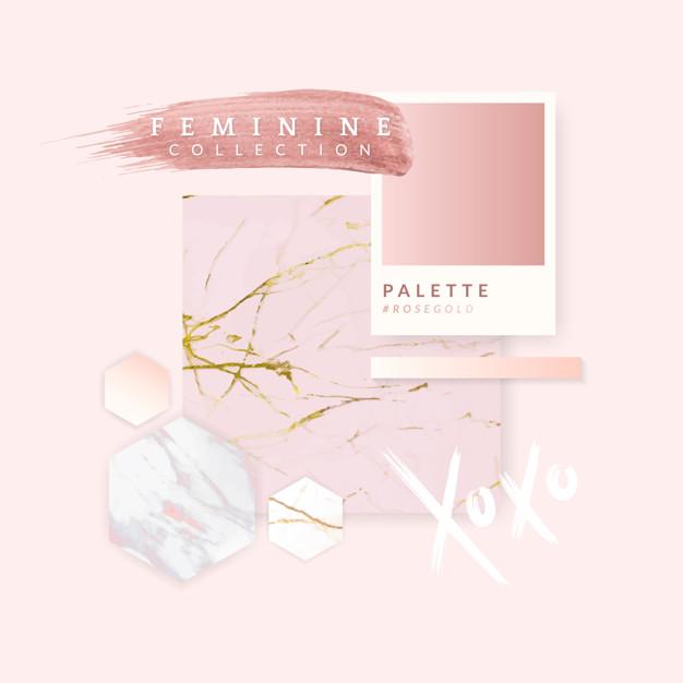 Flashing pink layout