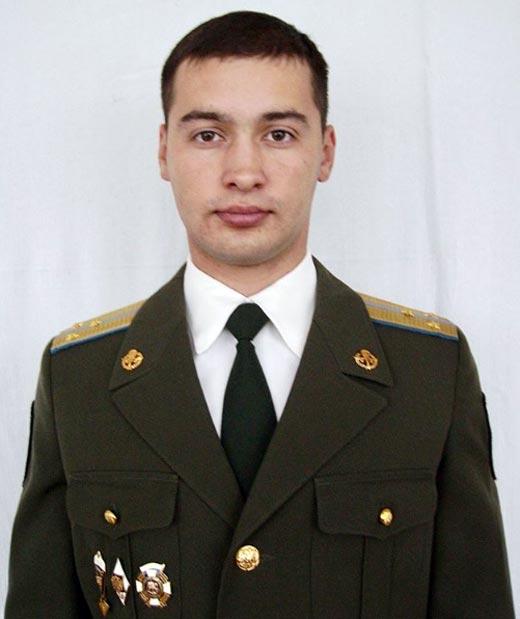 Андрей Черкасов в армии