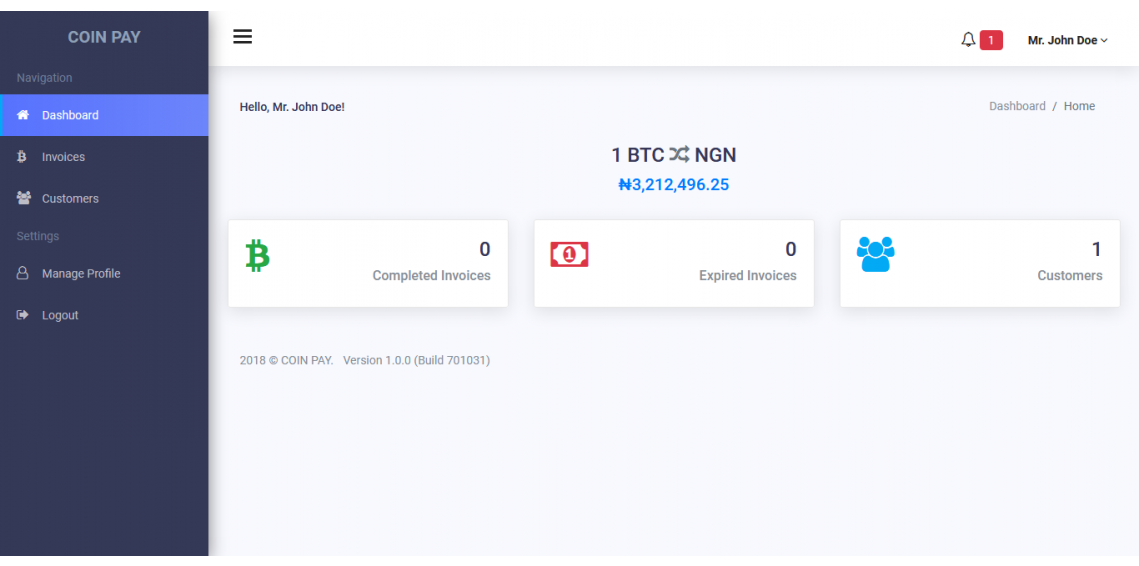 Coin Pay Laravel Bitcoin Payments