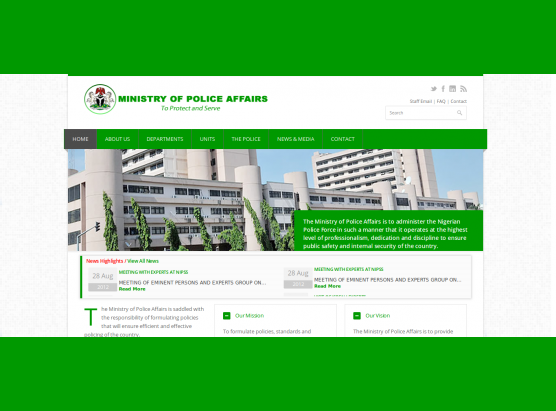 Federal Ministry of Police Affairs