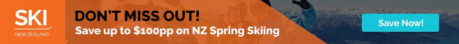 Ski New Zealand Spring Special