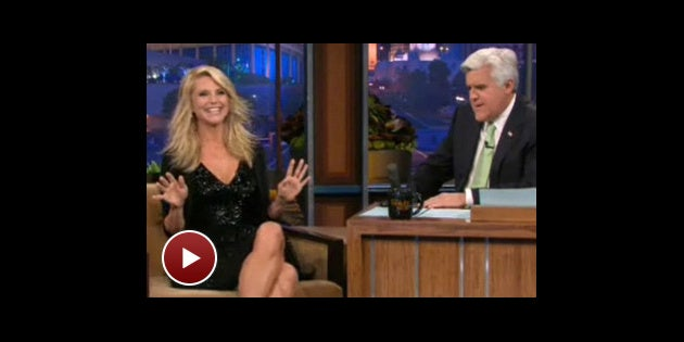 Christie brinkley on jay leno