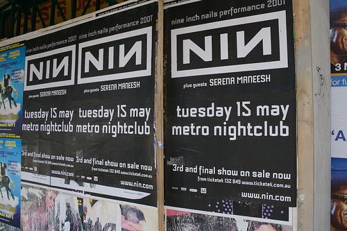 Nine inch nails tour dates 2007