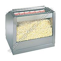 Тепловая витрина для попкорна встраиваемая двухсекционная