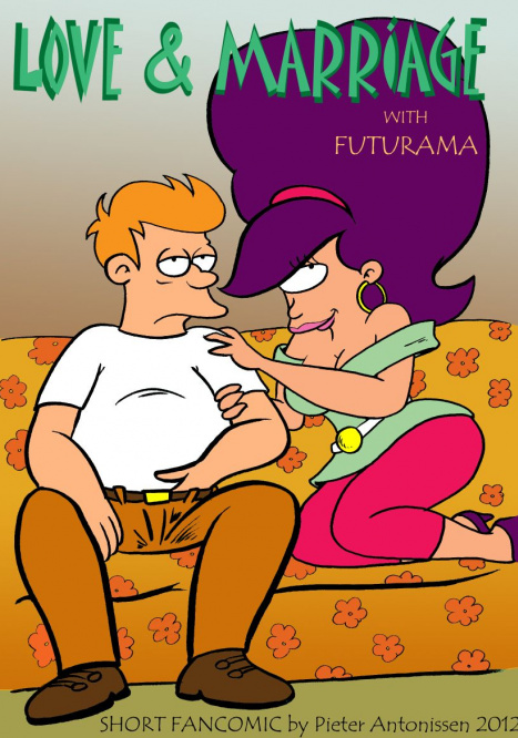 Short Fancomics Porn comic Cartoon porn comics on Futurama