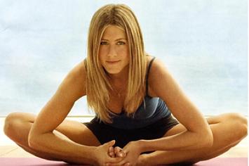 What celebrities do yoga