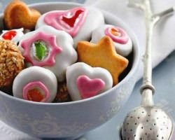 как украсить печенье глазурью