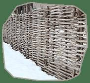 Забор из орешника