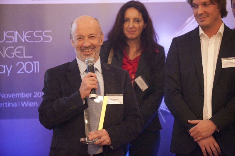 Dr. Johann Hansmann wird Business Angel of the Year 2011