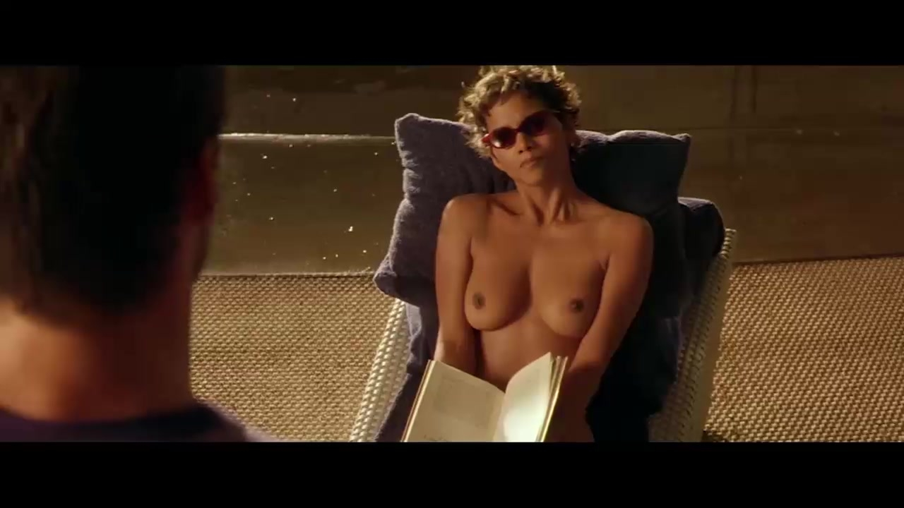 Halle berry topless in swordfish