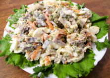 Салат с сердцем свиным, рецепт recipe main photo
