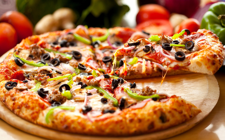 Тесто для пиццы тоненькое без дрожжей