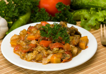 Овощное рагу в казане рецепт