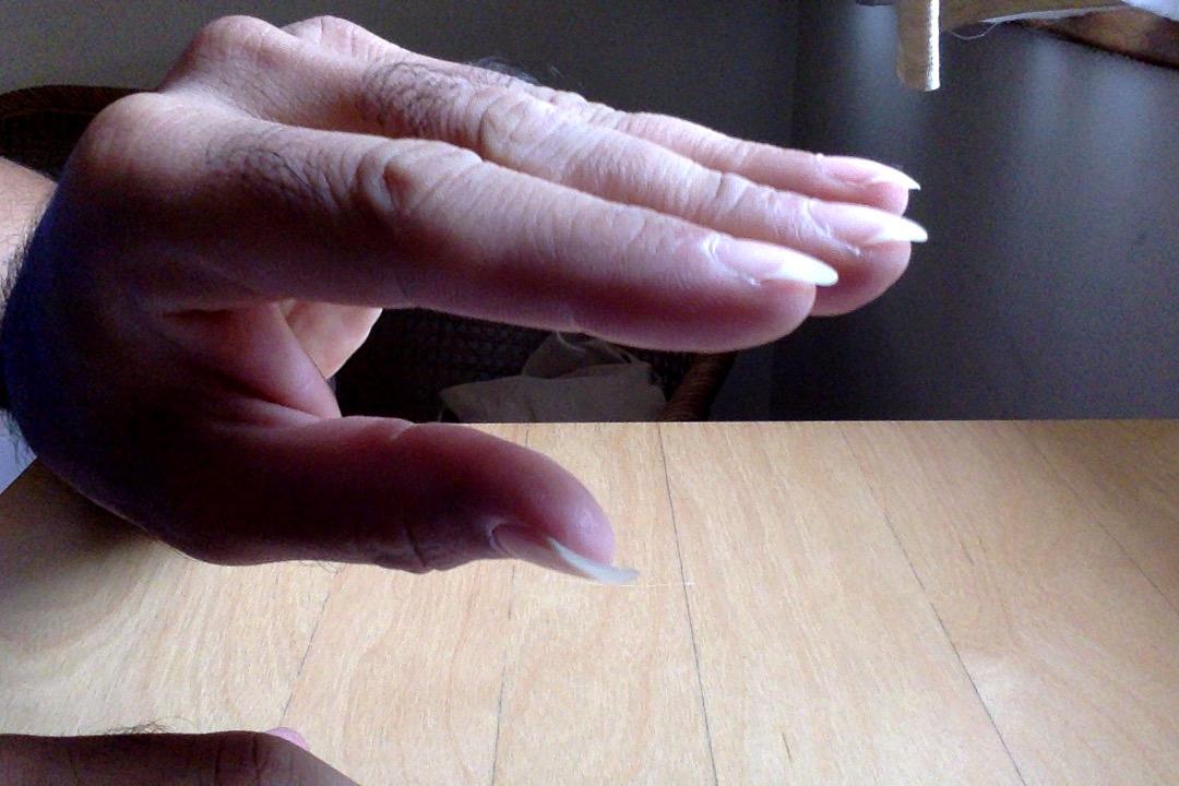 Hooked nails