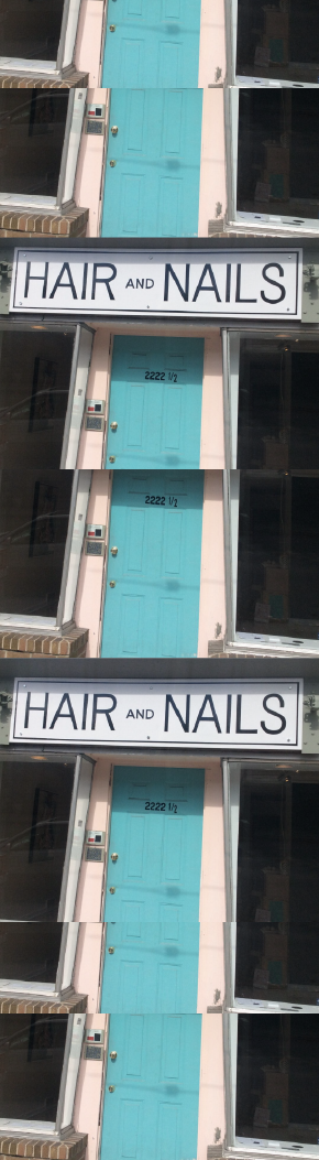 Hair on first and nails 2