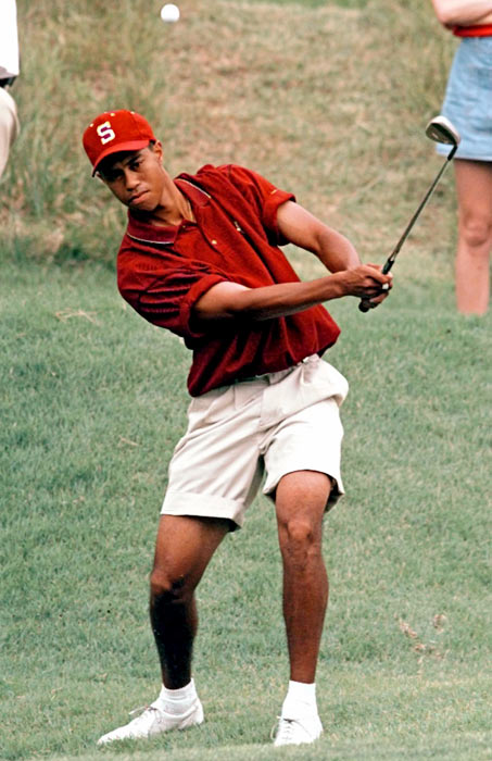 What did tiger woods study in college